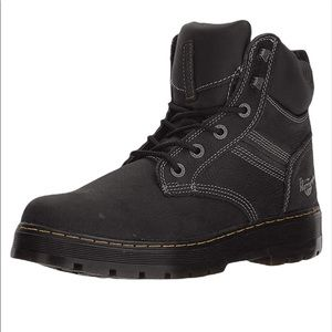 New Dr. Martens Gabion Work Boots Size 13 Black